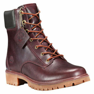 "Timberland Jayne 6"" Waterproof Boots Burgundy"